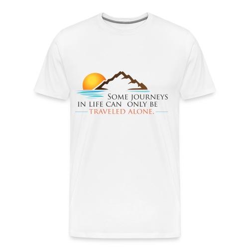 Viral Life Quote: Quotes Ken Poirot T-shirt Front - Men's Premium T-Shirt