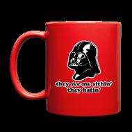 Mugs & Drinkware ~ Full Color Mug ~ Darth Vader They See Me Sithin' - Coffee Mug