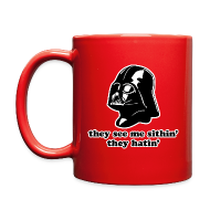 Mugs & Drinkware ~ Full Color Mug ~ Darth Vader They See Me Sithin' - Coffee Mug
