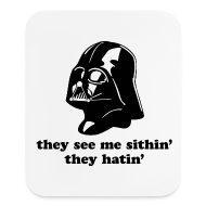 Other ~ Mouse pad Vertical ~ Darth Vader They See Me Sithin' - Mouse Pad - Vertical