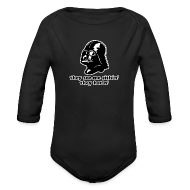 Baby Bodysuits ~ Baby Long Sleeve One Piece ~ Darth Vader They See Me Sithin' - Baby Long Sleeve One Piece