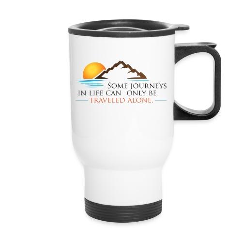 Viral Life Quote: Quotes Ken Poirot Travel Mug - Travel Mug