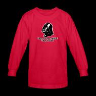 Kids' Shirts ~ Kids' Long Sleeve T-Shirt ~ Darth Vader They See Me Sithin' - Kid's Long Sleeve T-Shirt