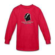 Kids' Shirts ~ Kids' Long Sleeve T-Shirt ~ Darth Vader They See Me Sithin' - Kid's Long Sleeve T-Shirt