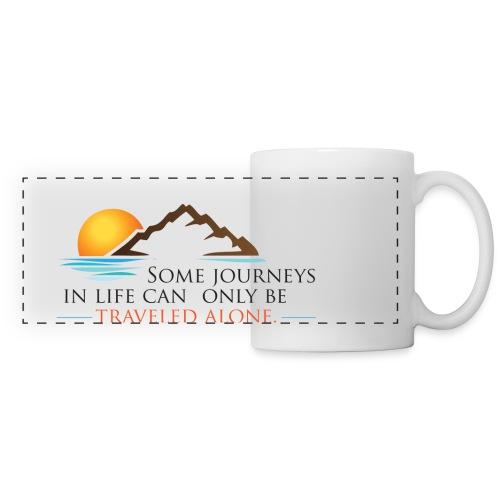 Viral Life Quote: Quotes Ken Poirot Panoramic Design Mug - Panoramic Mug
