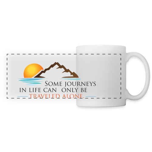 Viral Life Quote: Quotes Ken Poirot Panoramic Design Mug - Panoramic Mug