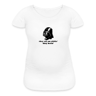 Women's T-Shirts ~ Women's Maternity T-Shirt ~ Darth Vader Sithin' - Women's Maternity T-Shirt