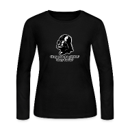 Long Sleeve Shirts ~ Women's Long Sleeve Jersey T-Shirt ~ Darth Vader Sithin' - Women's Long Sleeve Jersey T-Shirt