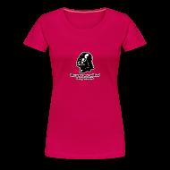 T-Shirts ~ Women's Premium T-Shirt ~ Darth Vader Sithin' - Women's Premium T-Shirt