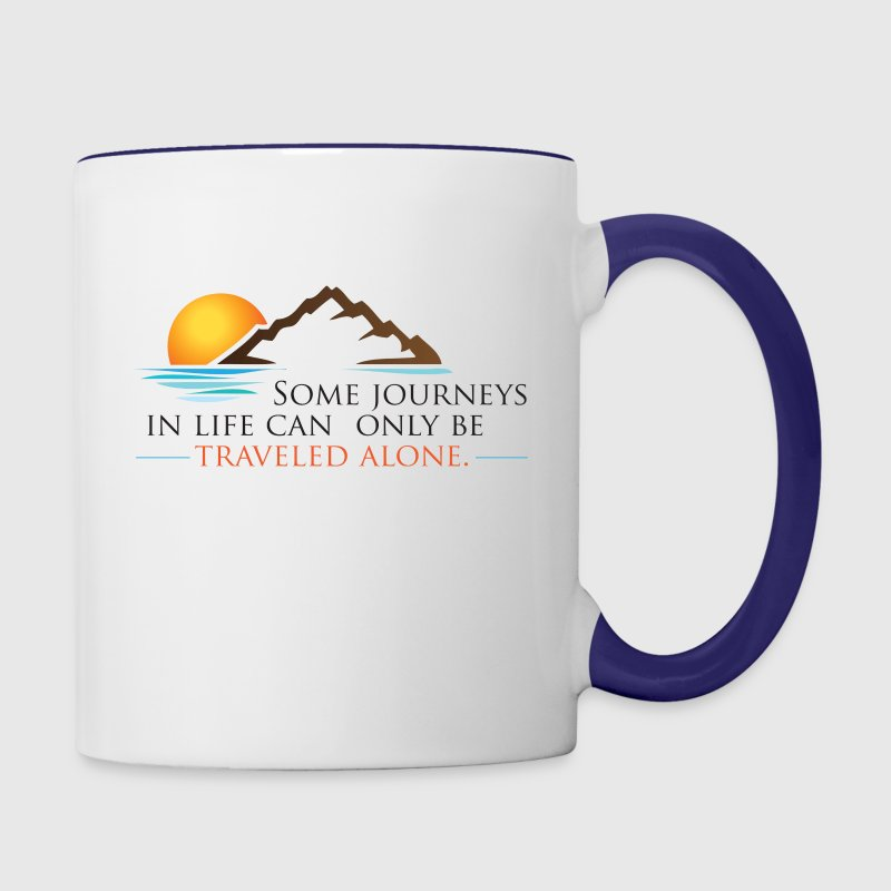 Viral Life Quote: Quotes Ken Poirot Color Accent C - Contrast Coffee Mug