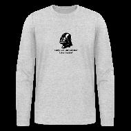 Long Sleeve Shirts ~ Men's Long Sleeve T-Shirt by American Apparel ~ Darth Vader Sithin' - Men's Long Sleeve T-Shirt by American Apparel