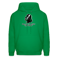 Hoodies ~ Men's Hoodie ~ Darth Vader Sithin' - Men's Hoodie - Hooded Sweatshirt