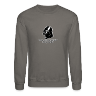 Long Sleeve Shirts ~ Crewneck Sweatshirt ~ Darth Vader Sithin' - Men's Crewneck Sweatshirt