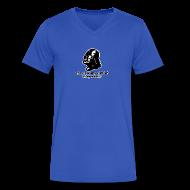 T-Shirts ~ Men's V-Neck T-Shirt by Canvas ~ Darth Vader Sithin' - Men's V-Neck T-Shirt by Canvas