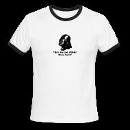 T-Shirts ~ Men's Ringer T-Shirt ~ Darth Vader Sithin' - Men's Ringer T-Shirt by American Apparel