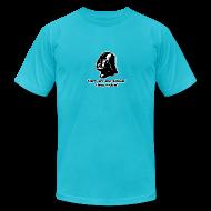 T-Shirts ~ Men's T-Shirt by American Apparel ~ Darth Vader Sithin' - Men's T-Shirt by American Apparel