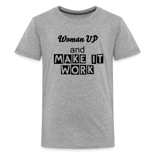 Woman UP - Kids' Premium T-Shirt