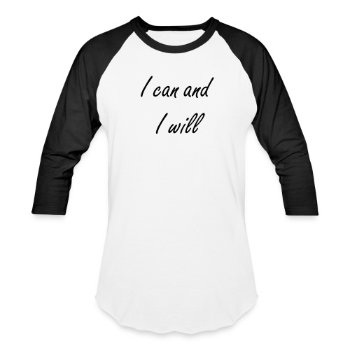 I CAN - Baseball T-Shirt