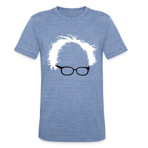 Bernie Sanders Hair Men's - Unisex Tri-Blend T-Shirt