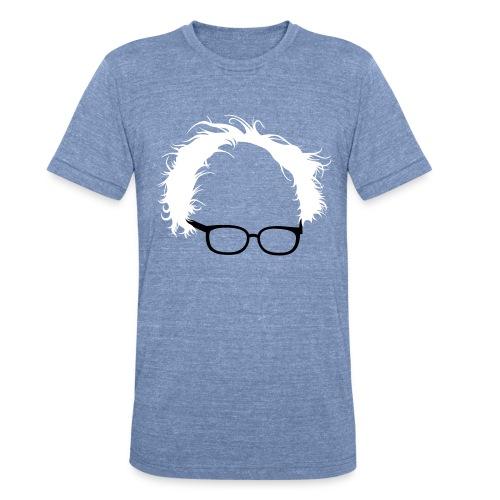 Bernie Sanders Hair Men's - Unisex Tri-Blend T-Shirt