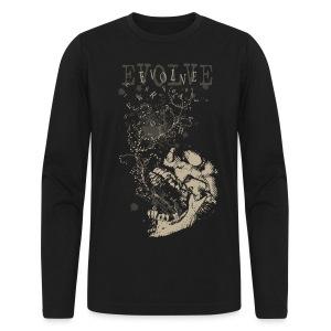 Evolve Skull - Men's Long Sleeve T-Shirt by Next Level
