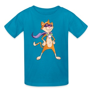 Sprocket the Comic Cat Kid's Shirt - Kids' T-Shirt