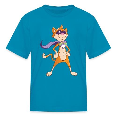 Sprocket the Comic Cat Kid's Shirt - Kids' T-Shirt