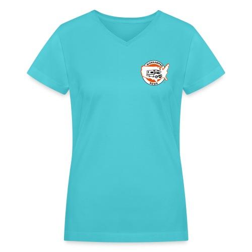 Womens Basic WKN V-Neck - Women's V-Neck T-Shirt
