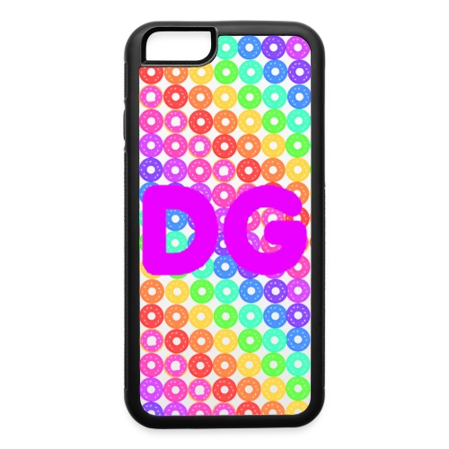 iPhone 6/6s Rainbow Donuts - iPhone 6/6s Rubber Case