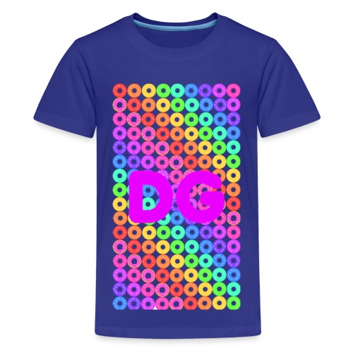 Kid's Rainbow Donuts - Kids' Premium T-Shirt