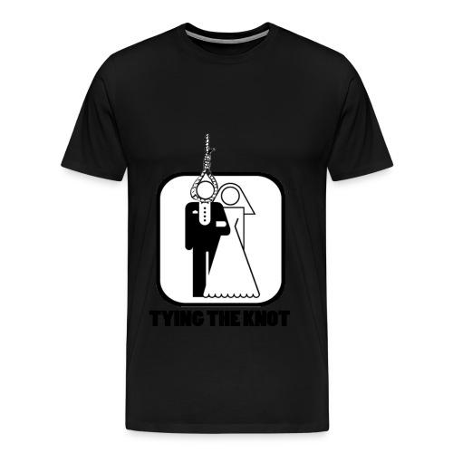 Tying the Knot - Men's Premium T-Shirt