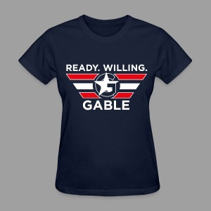 Ready, Willing, Gable (Women's) - Women's T-Shirt