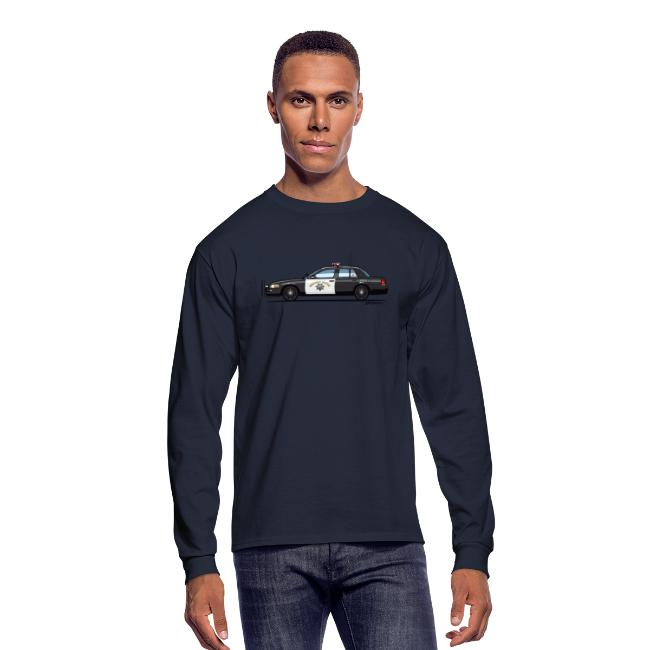 d1df261aa05 California Highway Patrol Ford Crown Victoria Police Interceptor | Men's  Long Sleeve T-Shirt