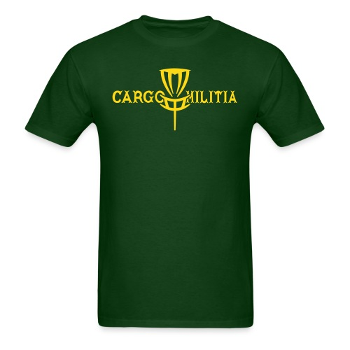 Cargo Militia Disc Golf T-Shirt (Packers) - Men's T-Shirt
