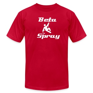 Beta Spray - Men's T-Shirt by American Apparel