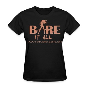 Bare It All PINK GLITZ - Women's T-Shirt
