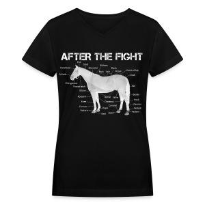 Women's ATF Shirt - Women's V-Neck T-Shirt
