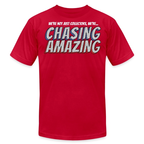 CHASING AMAZING Tee - Men's Fine Jersey T-Shirt