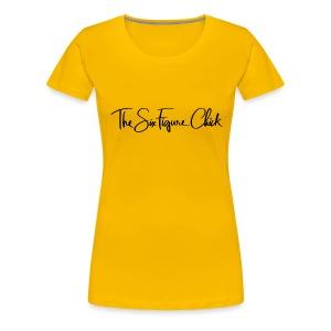 SIx Figure Tee - Women's Premium T-Shirt