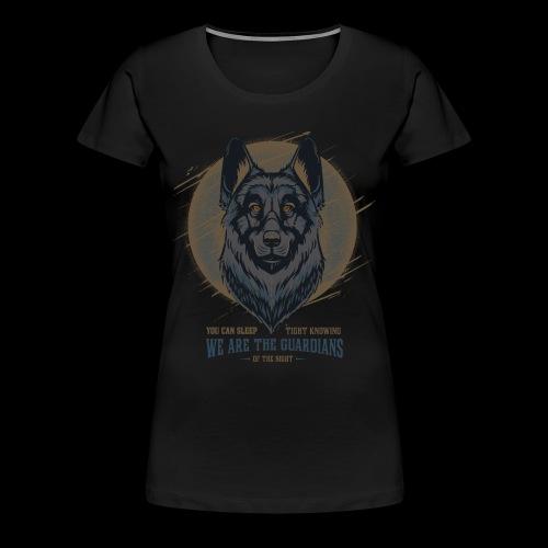 guardians of the night - Women's Premium T-Shirt
