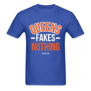 Queens Fakes Nothing MSG Colors - Men's T-Shirt