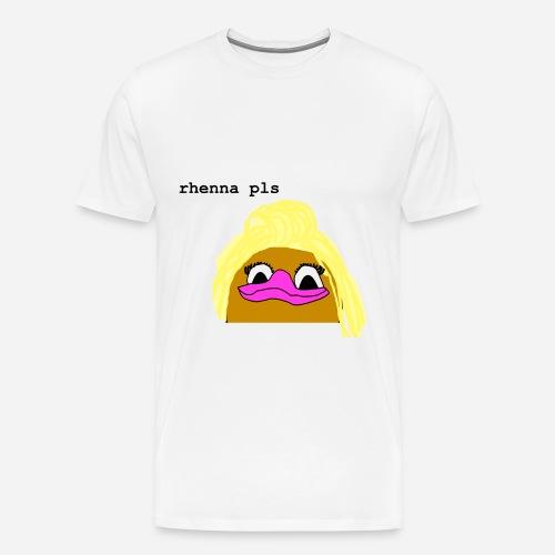 'Rhenna Pls' Men's T-Shirt - Men's Premium T-Shirt