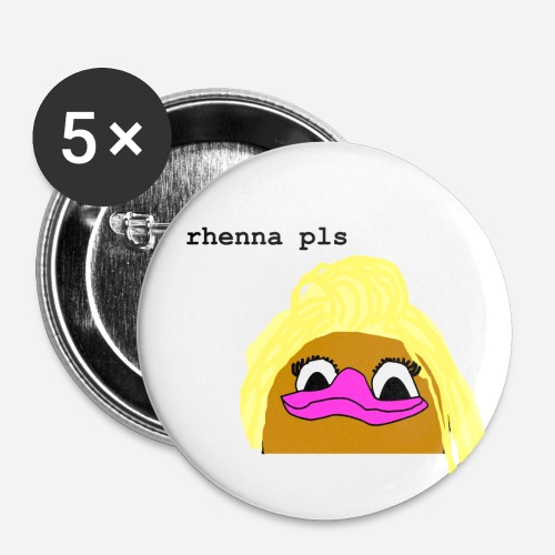 'Rhenna Pls' 25mm Button Set - Small Buttons