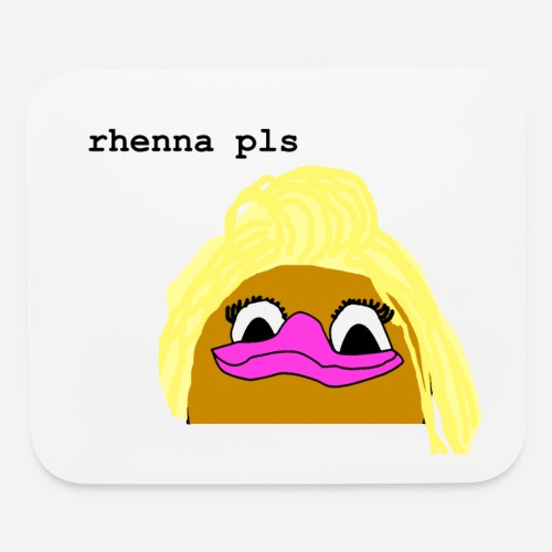 'Rhenna Pls' Mouse Pad - Mouse pad Horizontal