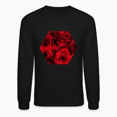 Roses Design Long Sleeve Shirts