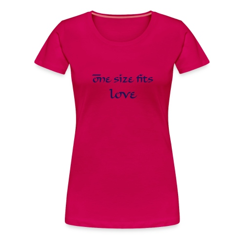 One size fits love - Women's Premium T-Shirt