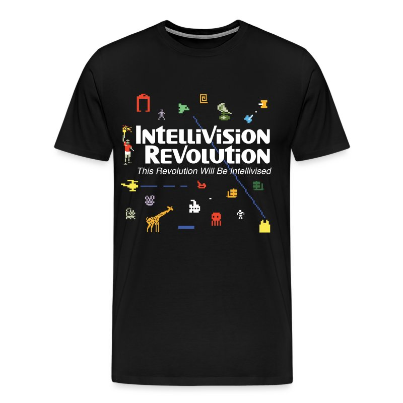 Intellivision Revolution premium shirt - Men's Premium T-Shirt