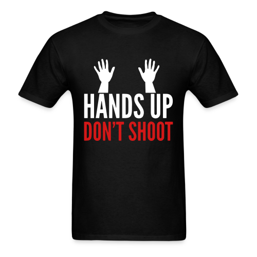 h.u.d.s. HANDS UP DONT SHOOT - Men's T-Shirt