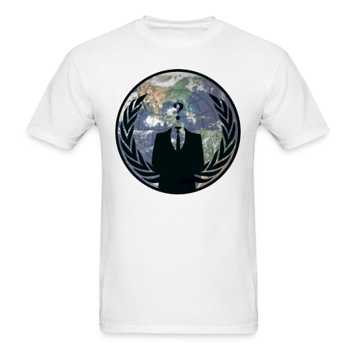 World Wide Anonymous - Men's T-Shirt