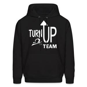 Libra turn up fun tee - Men's Hoodie